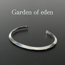 ガーデンオブエデン シルバー バングル メンズ レディース ブレスレット インディアン ジュエリー ネイティブ Garden of eden シンプル ギフト 【送料無料】