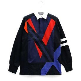 FACETASM ファセッタズム COLOURFUL MIX RUGBY SHIRT カラー ミックス ラグビーシャツ ラガーシャツ メンズ 2019 新作 【15:00までのご注文で即日配送】 プレゼント ギフト