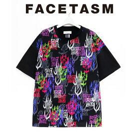 ファセッタズム FACETASM フローラル ビッグT FLORAL BIG TEE 半袖 プリント Tシャツ メンズ 2020 新作 【15:00までのご注文で即日配送】 プレゼント ギフト