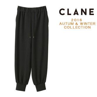 Crane CLANE live pants Womens JERSEY BLOUSING PANTS winter 2016 new