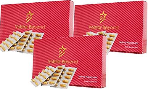 公式/自信増大サプリメント Volstar Beyond(ヴォルスタービヨンド) 3箱 L−シトルリン/L-アルギニン/亜鉛/マカ配合