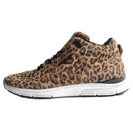 GOURMET(グルメ)   The 35 Lite AP Sneaker in Animal & White  スウェード ハイカット スニーカー