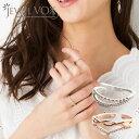 リング レディース 指輪 ピンキーリング 金属アレルギー フリーサイズ キュービックジルコニア ピンクゴールド ゴールド シルバー 金 銀 デイリー 重ね着け 重ね付け 重ねづけ ニッケルフリー 安心 ギフト アクセサリー jewelvox