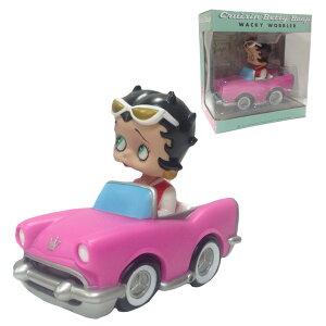 ベティブープ FUNKO ボビングヘッド (Cruising) ベティちゃん フィギュア ファンコ ボブルヘッド 首振り人形 BETTYBOOP ベティー ベティー・ブープ かわいい コレクション 輸入品 DINER ダイナー 備品