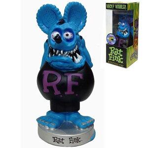 FUNKO Wacky Wobbler RAT FINK (ブルー) ラットフィンク ボビングヘッド 首振り人形 フィギュア ラットフィンク RF グッズ