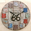 像美國復古一樣的大的60cm鐘表Route66(途徑66)挂鐘途徑66商品