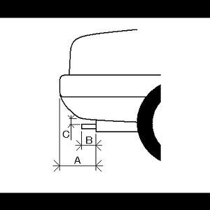 マフラーカッター[AX418]トヨタbB【カー用品外装パーツ吸気系パーツステンレス製シルバー社外マフラー延長テールエンド】