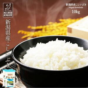 米 お米 10kg 送料無料 新潟産 新潟県産 こしいぶき 白米 令和2年産【産地直送】【代引き不可】