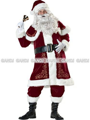 クリスマス サンタ サンタクロース サンタコス 衣装 メンズ コスプレ コスチューム パーティー メンズコス ハロウィン ★ サンタクロースメンズコスチューム ★ フリーダム Mサイズ セール sale