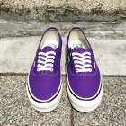 VANS/Authentic44DX-ANAHEIMFACTORY-OGBrightPurple(バンズオーセンティックアナハイム)