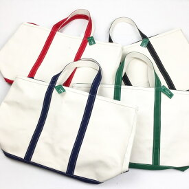 L.L.BEAN / Bote & Tote Bag- made in U.S.A Black, Navy, Green, Red(エルエルビーン トートバック アメリカ直輸入)