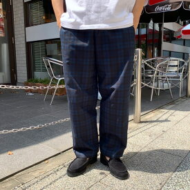 ERICK HUNTER / OVIEDO Check EASY PANTS (エリックハンター イージーパンツ)