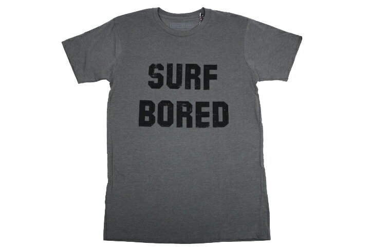 【SURF/BRAND】SB16022 BORED Tee D.Gray Navy