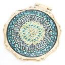 アナスイ ANNA SUI ミラー 鏡 ラグジュアリー ビューティー ミラー ターコイズブルー 正規品/通販/ブランド品/ホワイトデー お返し