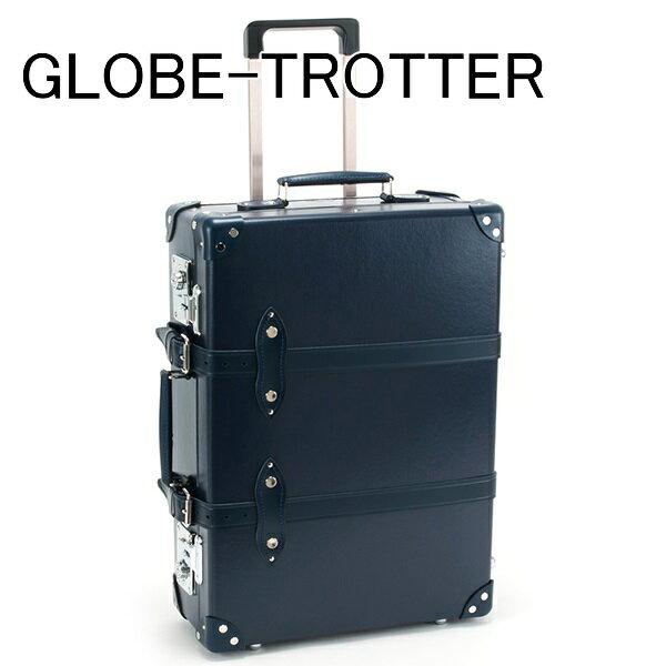 送料無料 新品 グローブトロッター GLOBE-TROTTER キャリーケース スーツケース 旅行かばん 旅行鞄 20 CENTENARY センテナリー トローリーケース ネイビー GTCNTNN20TC NAVY NAVY 正規品 セール ホワイトデー お返し 入学祝い 2018 ブランド品