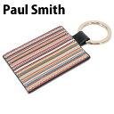 送料無料 新品 ポールスミス Paul Smith キーリング 鍵 キーホルダー メンズ レディース ANXA 1127 W731 B 正規品/ボ…