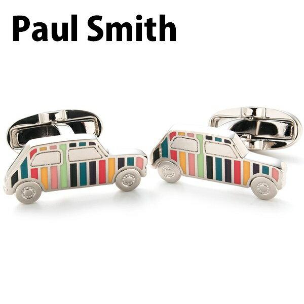 ポールスミス Paul Smith カフス メンズ カフスボタン ミニクーパー マルチストライプ ATXC CUFF ARTC 96
