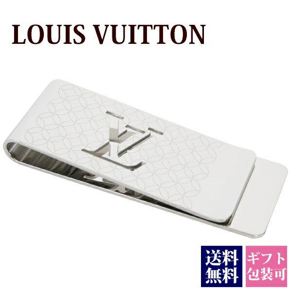 ルイヴィトン マネークリップ LOUISVUITTON 新品 メンズ 札ばさみ パンス・ビエ・シャンゼリゼ シルバー M65041 正規品 セールブランド 新作 2018年