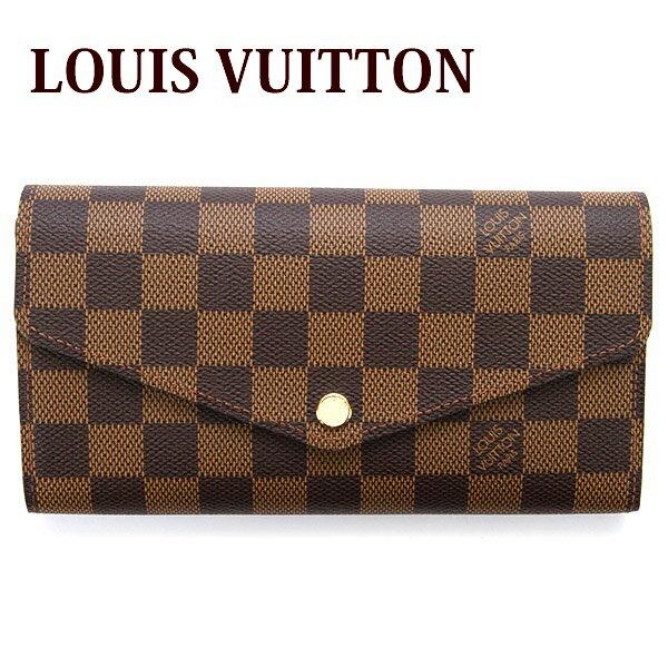 送料無料 新品 新作 ルイヴィトン Louis Vuitton 財布 長財布 小銭入れあり レディース ポルトフォイユ サラ ダミエ N63209 正規品 セール ホワイトデー お返し 入学祝い 2018 ブランド品