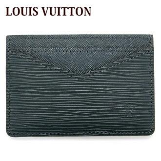 路易威登LOUIS VUITTON卡片匣路徑情况男子的新porutokarutoepinowaru M67210正規的物品/郵購/名牌品/白色情人節回敬