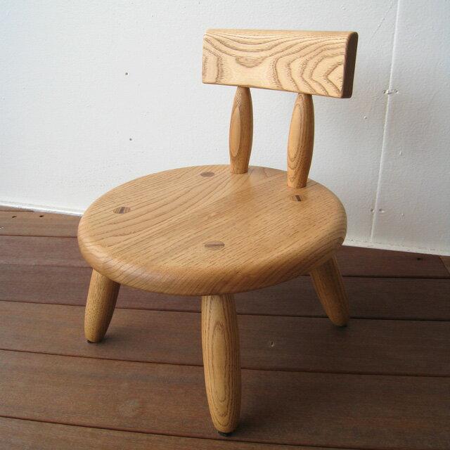 キッズチェア 木製 子供用椅子 楽天 ベビーチェア 子供イス 子ども椅子 子供いす 無垢 おすすめ 楽天 通販 人気 口コミ 肘付き ダイニング 天然木 アンティーク おしゃれ プレゼント 長く使える【送料無料】木製キッズチェア(ラウンド)栗無垢