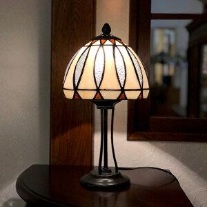 ステンドグラス ランプ テーブルランプ おしゃれ かわいい ステンドガラス スタンド照明 小さめ ラインストーン コンパクト ステンドランプ スタンドライト テーブルランプ 新築祝い 母の
