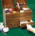 ソーイングボックス裁縫箱ソーイングセット木製おしゃれフレンチカントリーミシン針箱ミシン箱アンティークナチュラル天然木日本製お誕生日祝い出産祝いプレゼント母の日お祝い【送料無料】Aliceソーイングボックス3