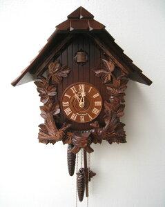 カッコー時計 鳩時計 ハト時計 掛時計 壁掛け時計 からくり時計 レトロ アンティーク ドイツ製 シュナイダー社 正規品 おしゃれ 木製 壁掛 ぜんまい式 送料込み 1日巻タイプ【送料無料】《