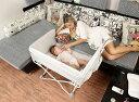 ベビーベッド 折りたたみベッド ポータブル 添い寝ベッド コンパクト 軽量 通気性良い 0〜24ヶ月 プラス ロング ベビ…