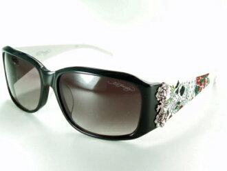 Ed Hardy Edo Hardie sunglasses EHA-SKULL & ROSES-WHITE scull & rose white