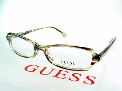 【レンズ付セット】GUESS ゲス フレーム GU8042-brn【送料無料】