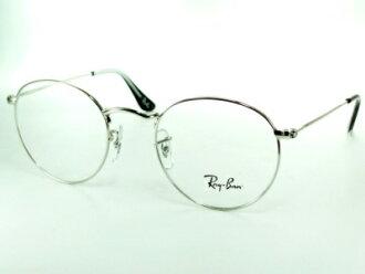 보스턴형/환안경/존 레논/실버 Ray-Ban 레이 밴 프레임 RX6242-2501