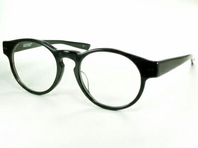 【だてメガネ】ロイド・メガネ/ブラック【メイド・イン・ジャパン】 Kitson キットソン K-007S-4 【送料無料】