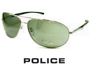 2020/ATSUSHI(EXILE)さん愛用モデル 復刻版/シルバーミラー/パラジウム/ POLICE ポリス サングラス POLICE S8182G-579S【送料無料】 メンズ UVカット ブランド ストリート系 オシャレ ドライブ ツーリング