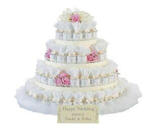 【72コ】プチギフト お菓子 レースデコレーション ピンク 72個セット 結婚式 名入れ ウェルカムボード ウェディング クッキー お祝い
