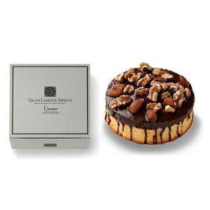 結婚 内祝 引き菓子 引き出物 Gran La mour チョコとナッツをかけた贅沢なケーキ お祝い プレゼント 入学 内祝