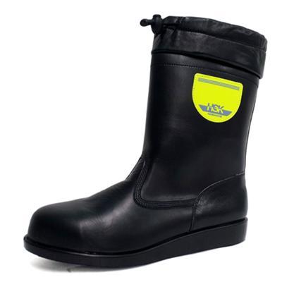 安全靴 作業靴 HSK208フード付き(23.0cm〜28.0cm) HSKシリーズ 道路舗装工事用 ノサックス(Nosacks) お取寄せ