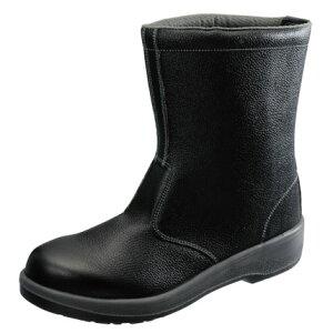 安全靴 作業靴 7544 黒 (23.5〜28.0cm(EEE)) 7500シリーズ 半長靴 セフティシューズ シモン(Simon) お取寄せ 【返品交換不可】