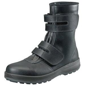 安全靴 作業靴 セーフティシューズ WS38 黒 (23.5〜28.0cm(EEE)) ウオーキングセフティ シリーズ 半長靴 シモン(Simon) お取寄せ 【返品交換不可】