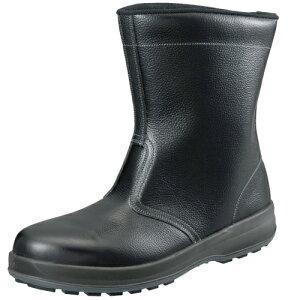安全靴 作業靴 セーフティシューズ WS44 黒 (23.5〜28.0cm(EEE)) ウオーキングセフティ シリーズ 半長靴 シモン(Simon) お取寄せ 【返品交換不可】