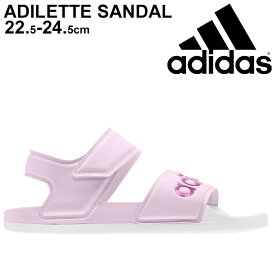 【a20Qpd】スポーツサンダル レディース サマーシューズ/アディダス adidas アディレッタ ADILETTE SANDAL W/カジュアル ピンク DUZ26 女性 靴 くつ/FY8167