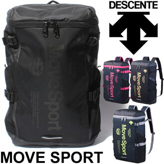 Descente DESCENT backpack bag square sport bag mens unisex backpack Move Sports /DAC8623