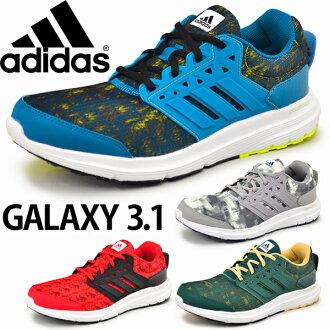 跑步鞋阿迪達斯男式阿迪達斯 /Galaxy S 4E/訓練鞋星系