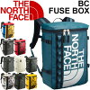 THE NORTH FACE base camp fuse box face box type backpack outdoor town casual bag vertical bag bag mens Womens BC Fuse Box 30L commuter and school rucksacks /NM81630
