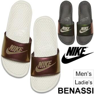 Nike shower Sandals /NIKE benassi print / men's women's sports Sandals Benassi shoes sea pool Beach RKap/618919