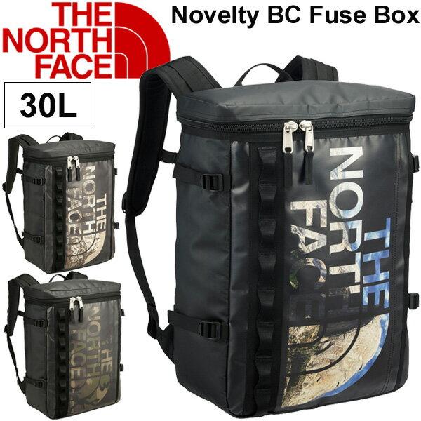 バックパック メンズ レディース ザノースフェイス THE NORTH FACE ベースキャンプ ノベルティBCヒューズボックス ボックス型 30L アウトドア タウン カジュアルバッグ 縦型 鞄 かばん BC Fuse Box 30L 通勤・通学 リュックサック 正規品 /NM81769