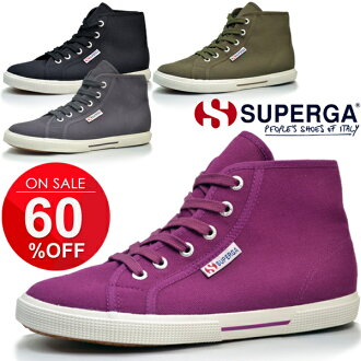 SUPERGA Superga / women's sneaker shoes shoes high cut 14AW/S0081XO