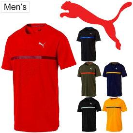 46adcf1a9fa61 Tシャツ 半袖 メンズ プーマ PUMA ラン グラフィック TEE/ランニング ジョギング トレーニング 男性用 半袖
