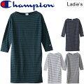 チャンピオンChampionレディースボートネックワンピース/CW-N413