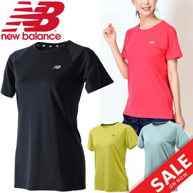 383d96e4c7eec Tシャツ 半袖 レディース ニューバランス new balance R360 TEE/ランニングウェア マラソン ジョギング トレーニング フィットネス